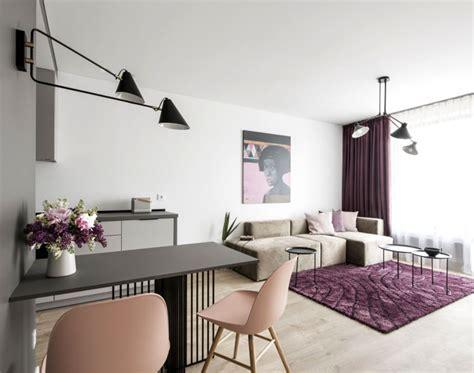 Small Studio Apartment With Feminine Design   InteriorZine