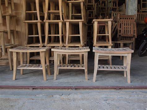 teak shower bench bagoes teak furniture indonesia