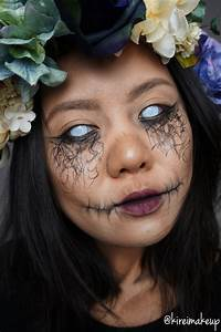 Dark Forest Nymph (Halloween Makeup) - Kirei Makeup