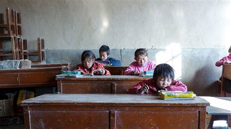 chinese children faces  education