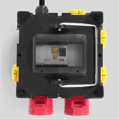 Pv16 Trotec Mobiler Stromverteiler Ispezione Ribaltabile Finestra
