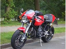 Monster fairing on a Sport Classic Ducatims The