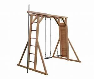 Holz Im Boden Befestigen : kletterwand schaukel turm kst3 5 ~ Lizthompson.info Haus und Dekorationen