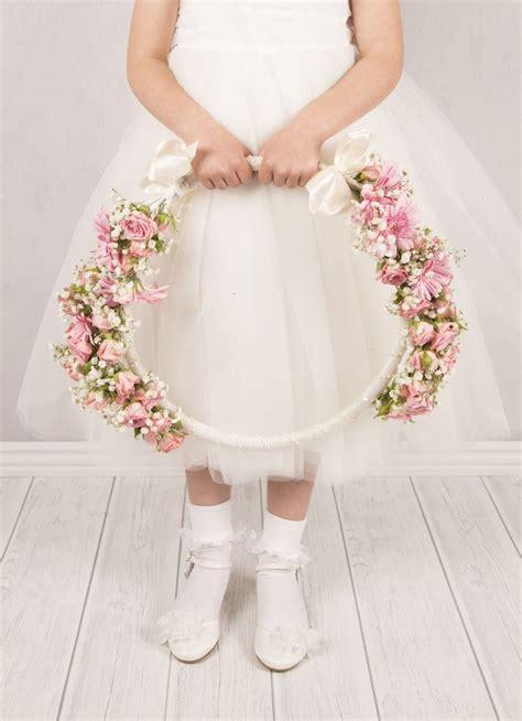 vintage affair flower girl hoop wedding planner