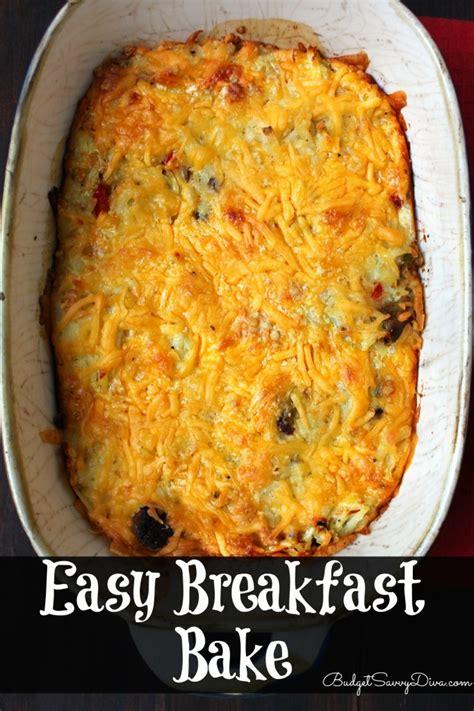 breakfast bake recipe sausage egg cheese casserole bisquick