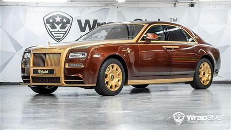 Behold The Super Cool Mansory Wrapstyle Rolls-royce Phantom