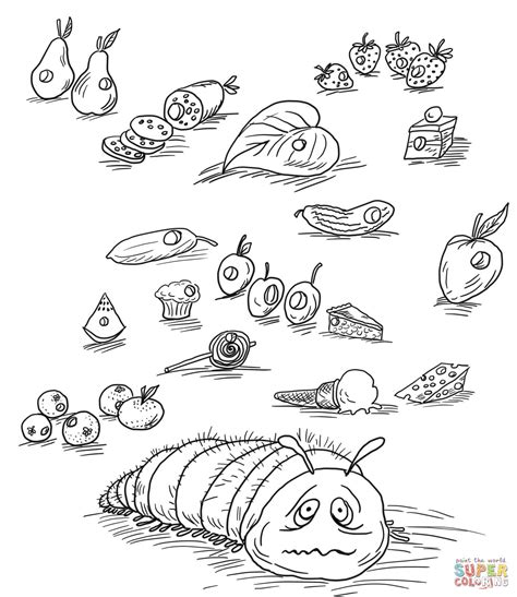 hungry caterpillar coloring pages hungry caterpillar coloring pages coloring home