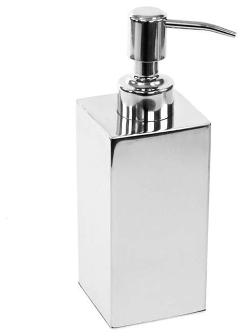 Free Standing Soap Dispenser, Polished Chrome