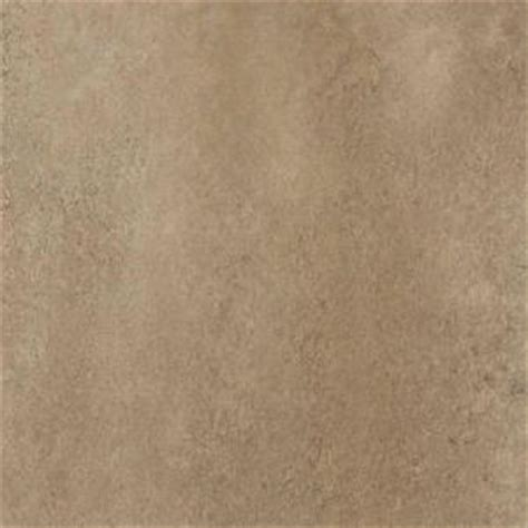 Groutable Vinyl Tile Home Depot by Trafficmaster Ceramica 12 In X 12 In Camel Resilient
