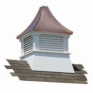 suncast belvedere vinyl cupola with copper roof cupolas With cupola manufacturers