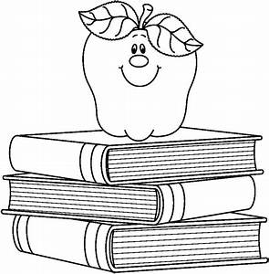 Book Clipat Black & White - ClipArt Best