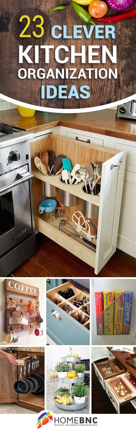 15+ Decorative Kitchen Organization Layout