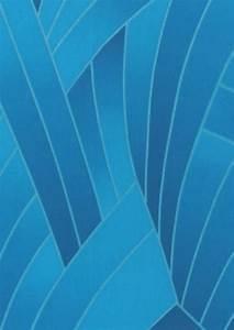 Papier Peint Bleu Foncé : papier peint nocuma bleu fonc bleu d eau papier peint des ann es 70 ~ Melissatoandfro.com Idées de Décoration