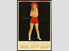 8r002 MARILYN MONROE calendar '55 great sexy images of
