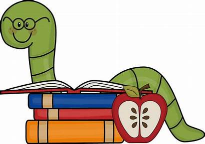 Library Clipart Clip Worm Popular Bible Bookworm