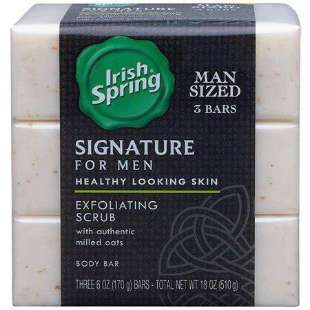why a man would receive scrub soap as a gift upc 035000142276 signature for exfoliating scrub deodorant bar soap 6 oz 3