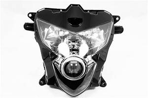 New Premium Headlight Head Light Assembly Suzuki Gsxr 600