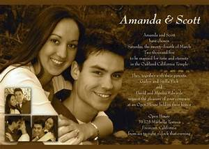 invitation cards invitations and lds on pinterest With inexpensive lds wedding invitations