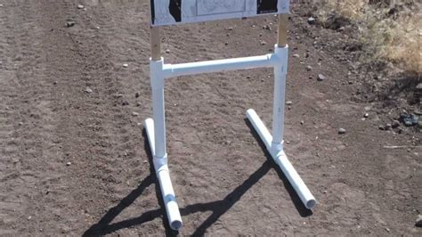 build a standing homemade shooting targets stands homemade ftempo