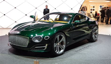 Bentley Is Committed To Building An Electric Car