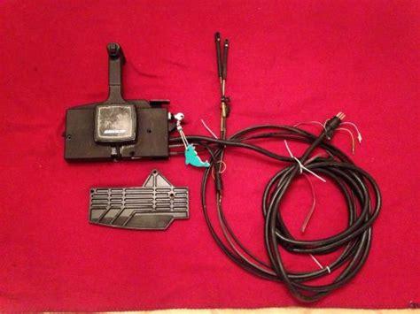 Buy Mercury Marine 8 Pin Side Mount Remote Control Box