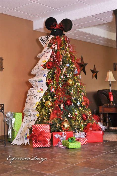 disney trees and holiday on pinterest