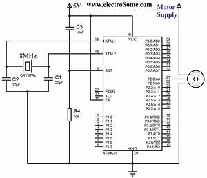 Interfacing Servo Motor With 8051 Microcontroller Using