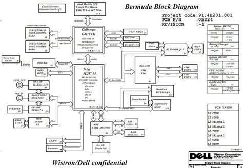 Dell Repair Diagram by Dell Inspiron 640m Schematic Diagram Laptop Schematic