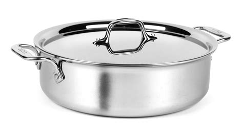 clad d3 stainless cookware compact piece sets steel cutleryandmore