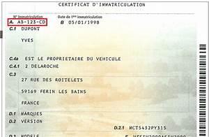 Numero Immatriculation Véhicule : a qui est ce numero d immatriculation automobile garage si ge auto ~ Medecine-chirurgie-esthetiques.com Avis de Voitures
