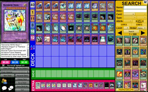 neo spacian deck profile my rainbow neos deck pojo forums