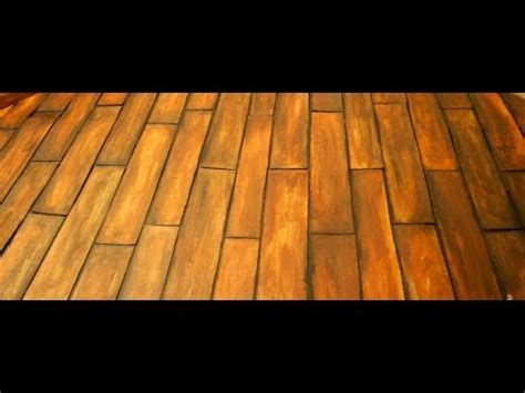 how to make wooden floor how to make a fake wooden floor for your dollhouse youtube