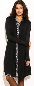 Gilet Long Noir Femme : gilet long noir femme un de mes v tements f tiches ~ Voncanada.com Idées de Décoration