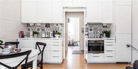 cement tile kitchen black and white pattern cement tiles interiors by color 2050