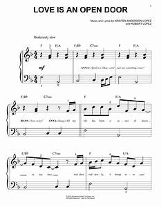 Love Is An Open Door | Sheet Music Direct