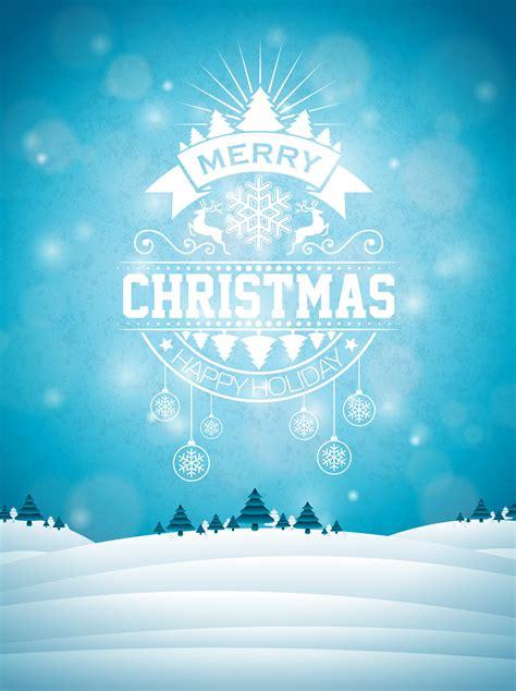 merry christmas illustration  typography  ornament