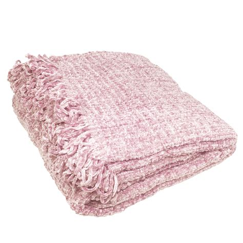Large Settee Throws by Luxury Chenille Throw Large Warm Thermal Woven Throw