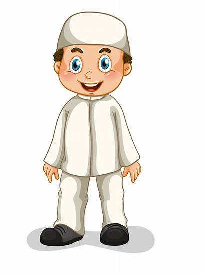 Muslim Boy Clipart Islamic Transparent Background Clip