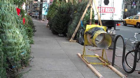 christmas tree wrapping machine youtube