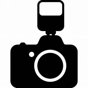 Cámara de fotos con flash Descargar Iconos gratis
