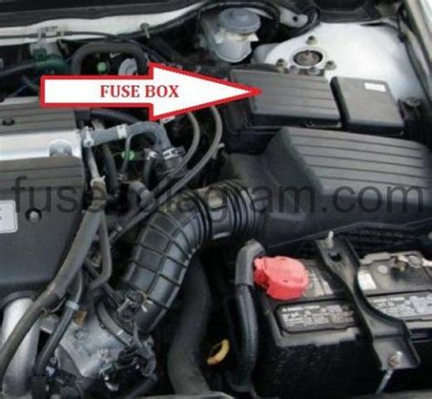 fuse box diagram honda accord