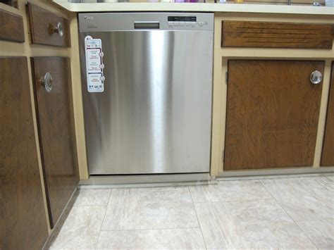 install a dishwasher in an existing kitchen cabinet dishwasher installation merrypad 9853