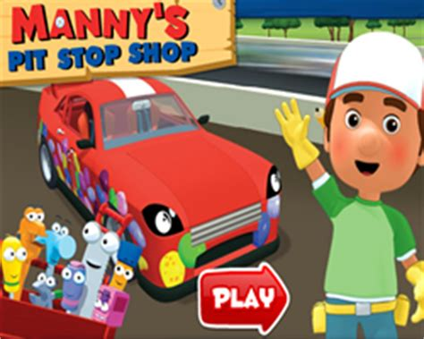 handy manny games   handy manny games