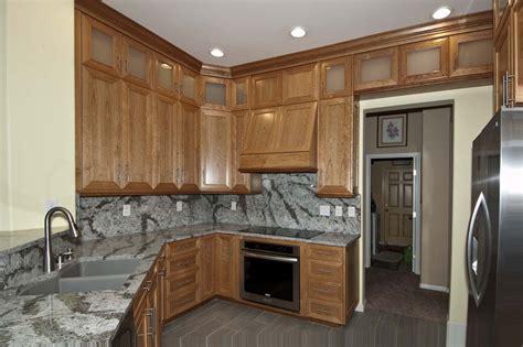 cherry wood kitchen unique design cabinet