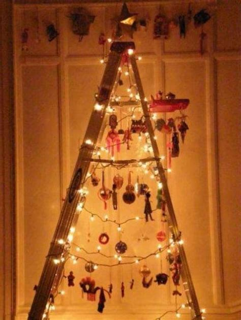 how to make a ladder christmas tree 16 cool wooden tree ideas guide patterns