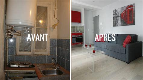repeindre sa cuisine avant apres avant après créer une impression d 39 espace dans un