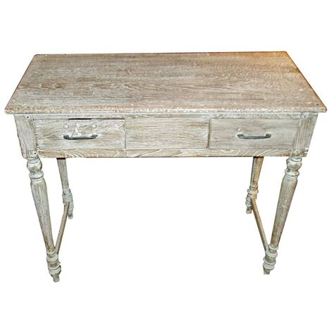 White Washed Table At 1stdibs