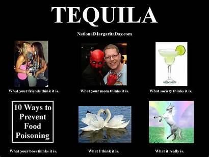 Meme Tequila National Margarita Think Drink Enjoy