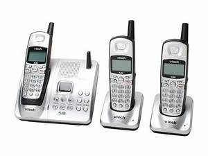 Open Box  Vtech 5874 5 8 Ghz Analog 3x Handsets Cordless