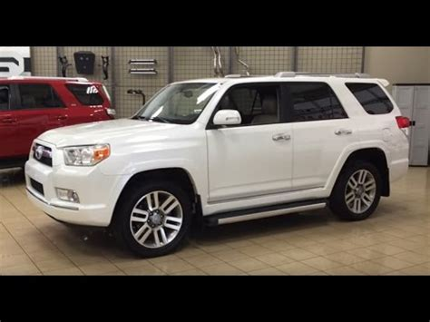 2013 toyota 4runner limited review youtube